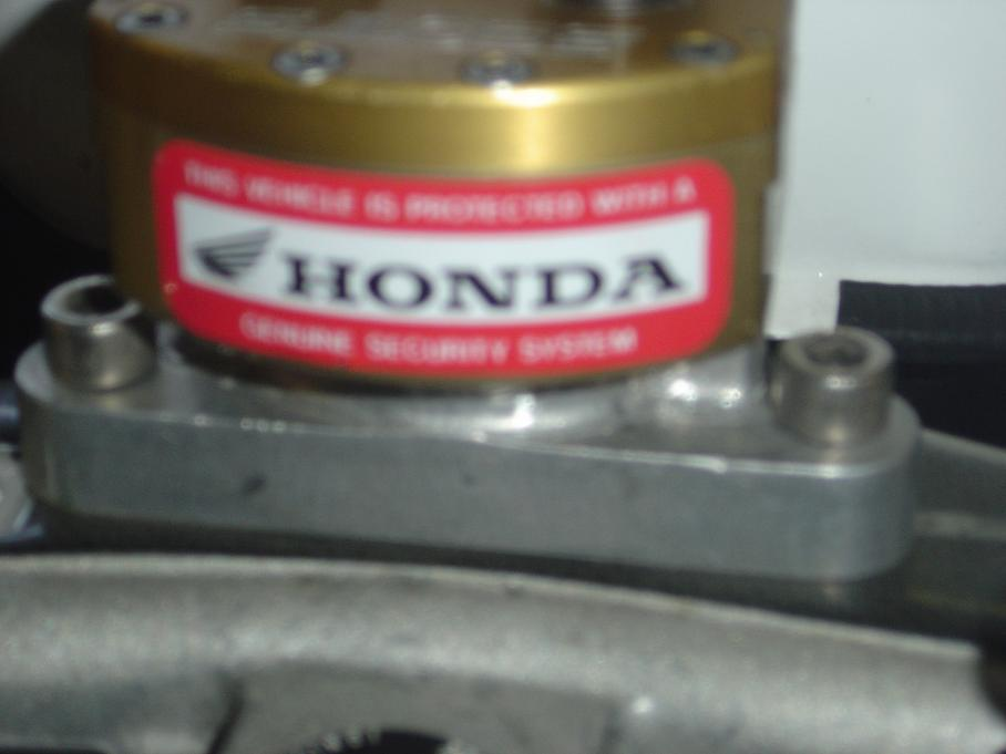 CBR1100XX Honda OEM Alarm w/Dual imobilizer - The Garage